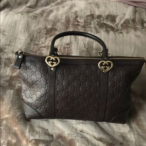 ❤️Gucci Lovely Heart Guccissima Brown❤️